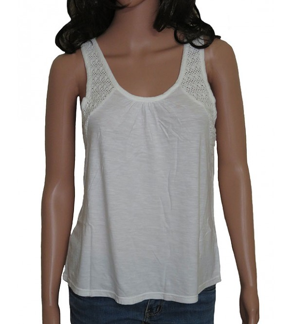 Ladies Crochet Modal Top