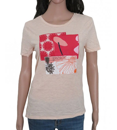 Ladies Short Sleeve Printed T Shirts