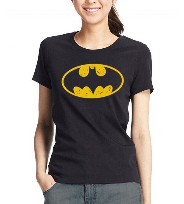 BATMAN Ladies Short Sleeve Printed T Shirt