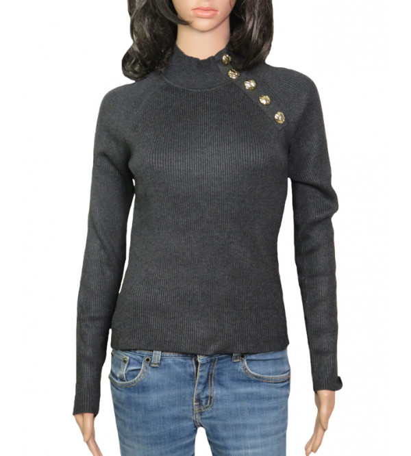 ZARA Ladies High Neck Pullover Sweater