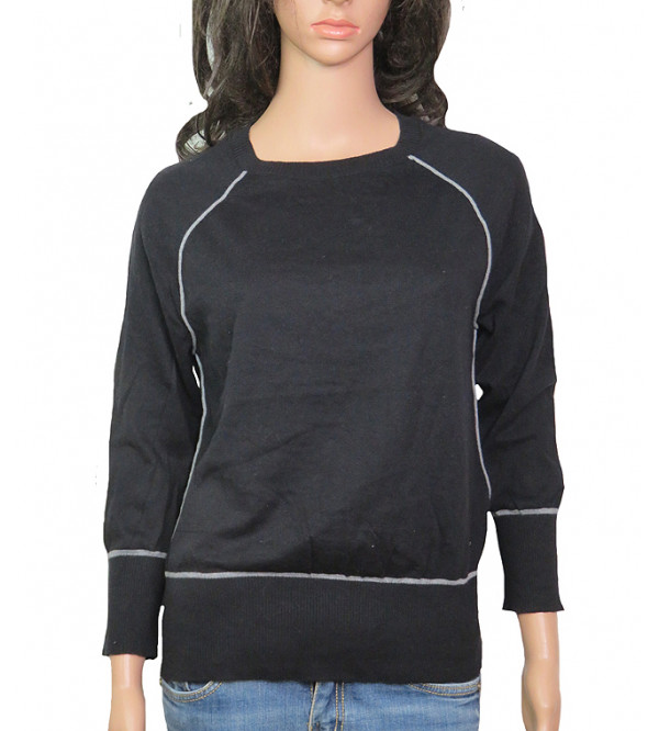Ladies Raglan Sleeve Pullover Sweater
