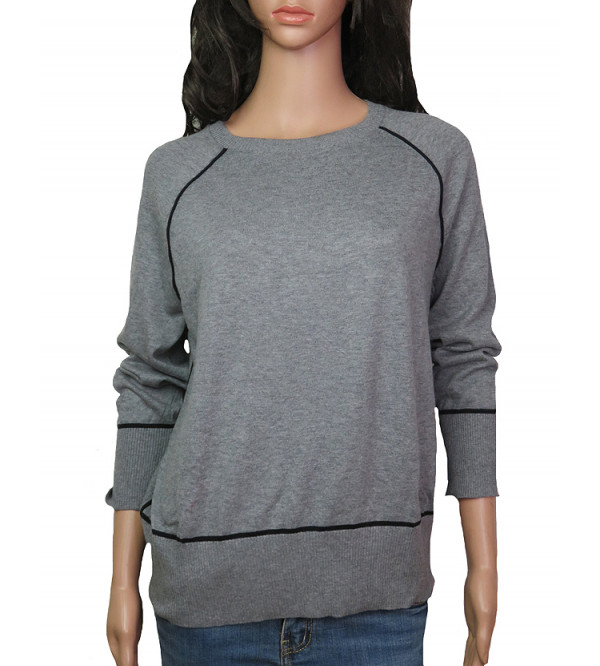 Ladies Raglan Sleeve Pullover Sweaters