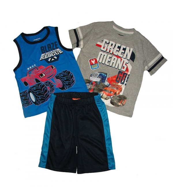 Cars Boys 3 pcs Shorty Sets