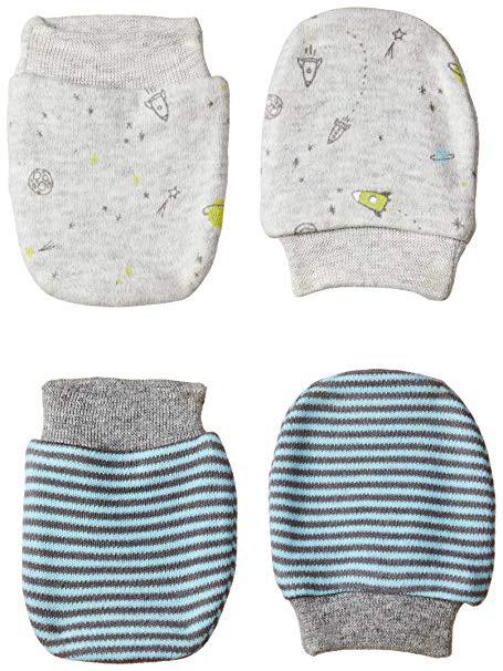 Baby Mittens 2 Pairs Pack