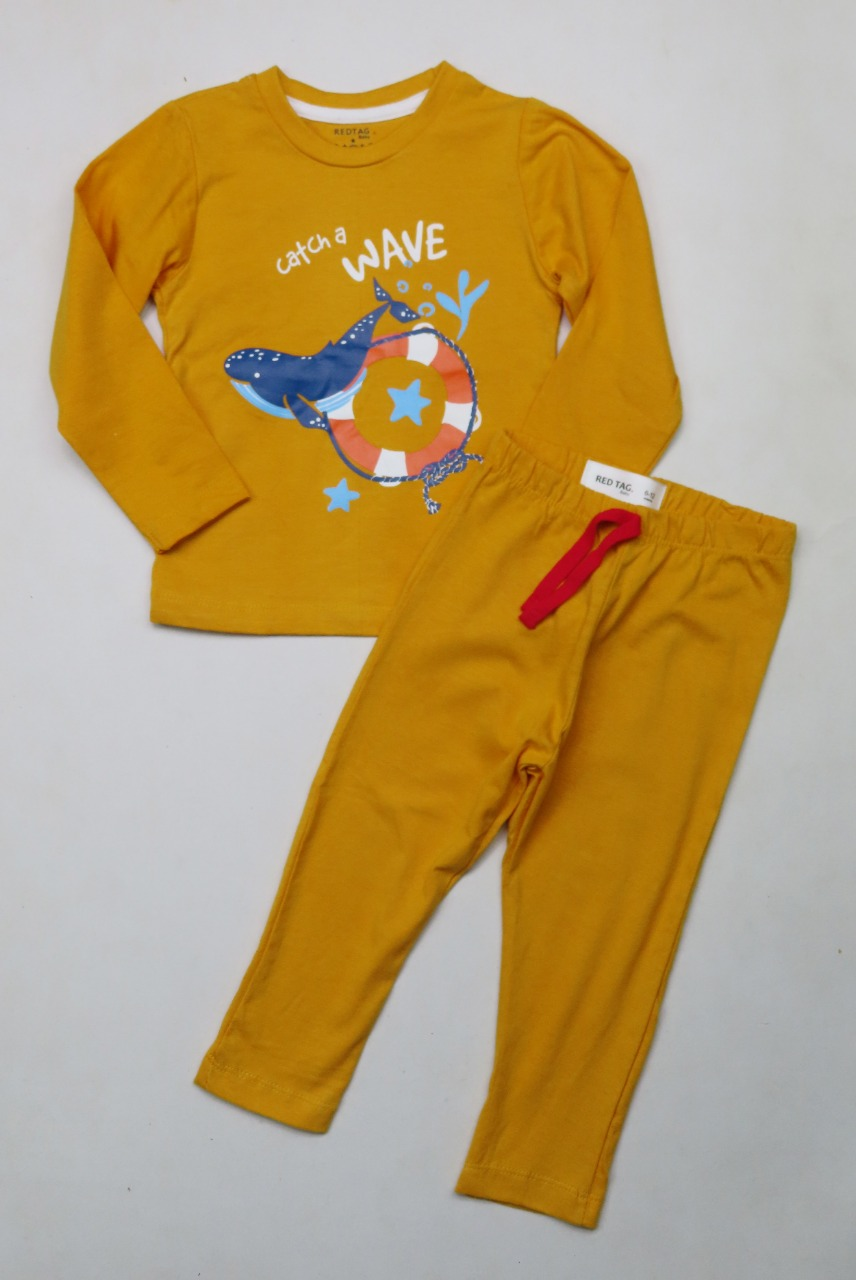 Baby Boys Printed Pyjama Sets