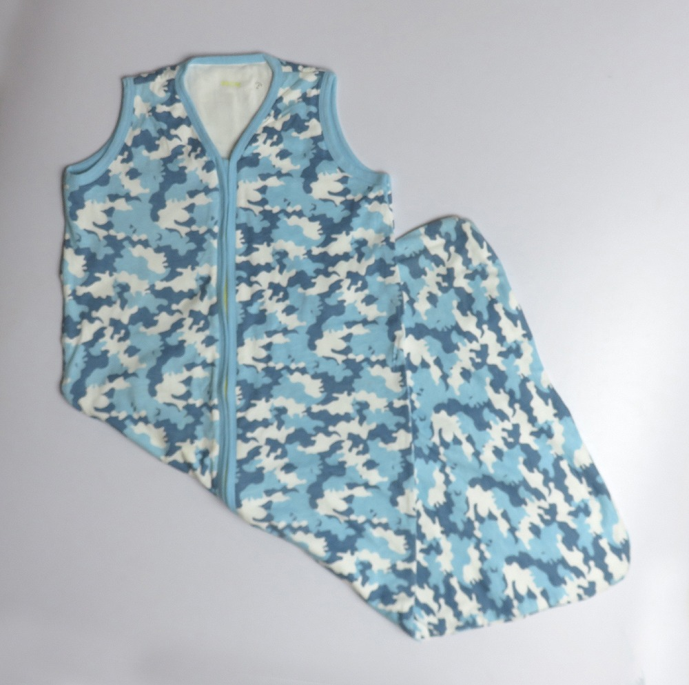 Baby Sleeveless Printed Sleeping Bags