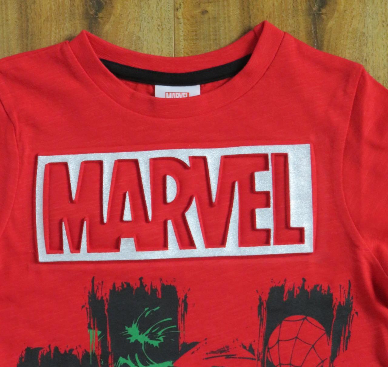 Avengers Printed Boys Embossed T Shirt