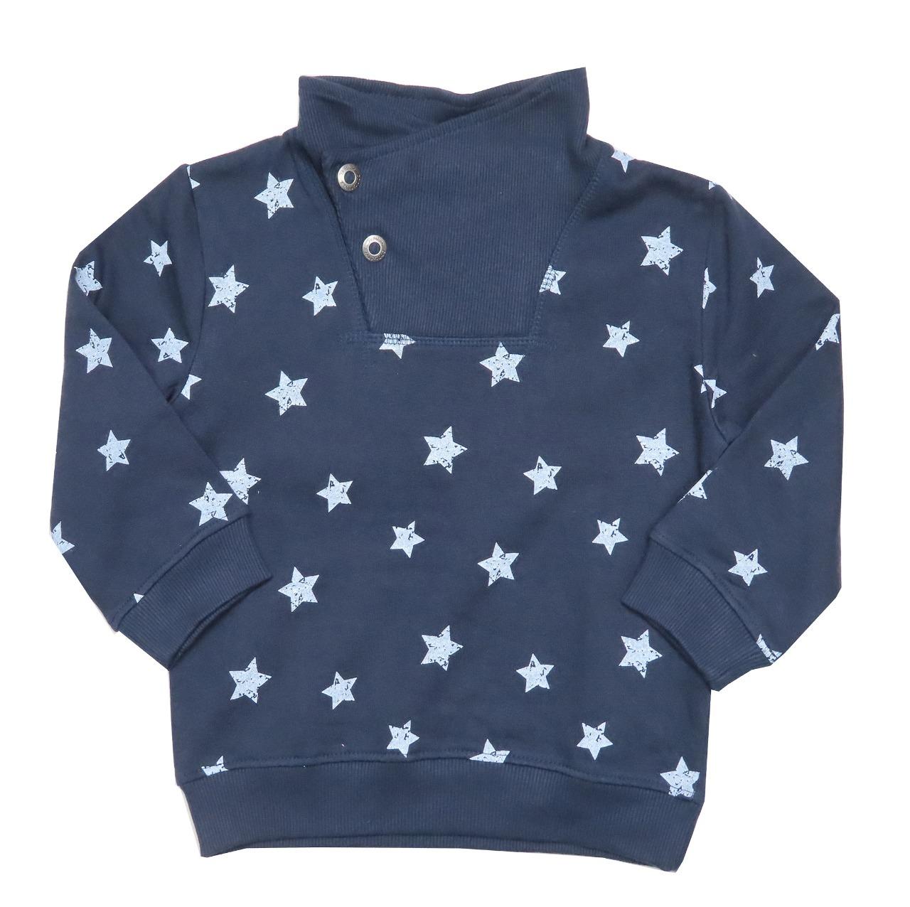Boys Cowl Neck Pullover Sweatshirt