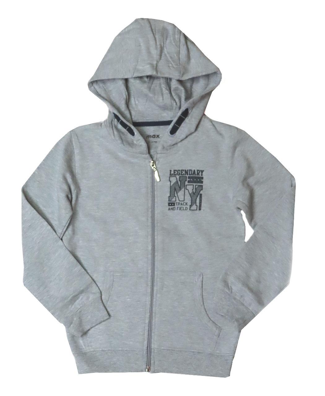 Boys Full Zipper Sweatshirt With Hoodie