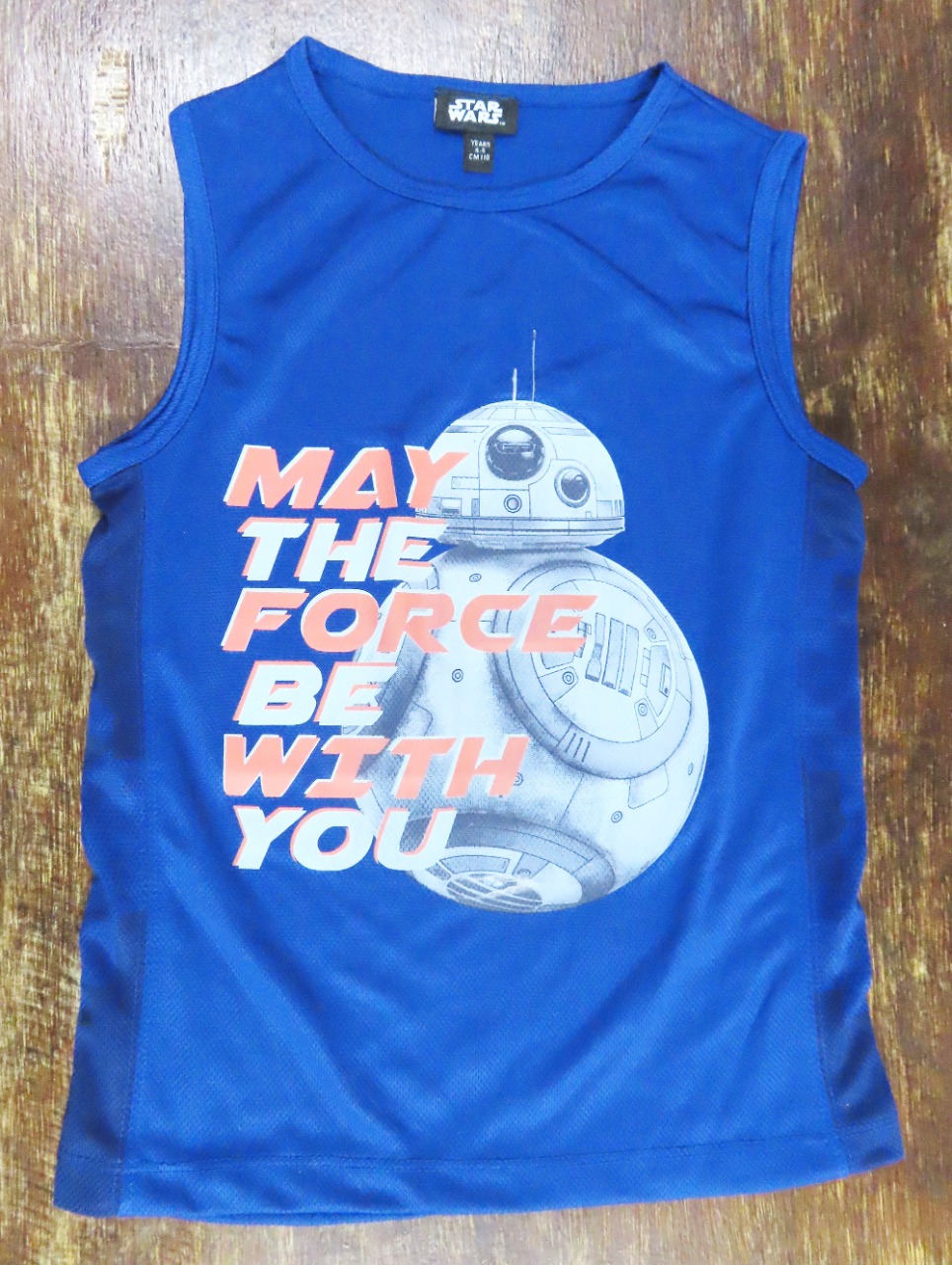 Star Wars Boys Muscle T Shirt