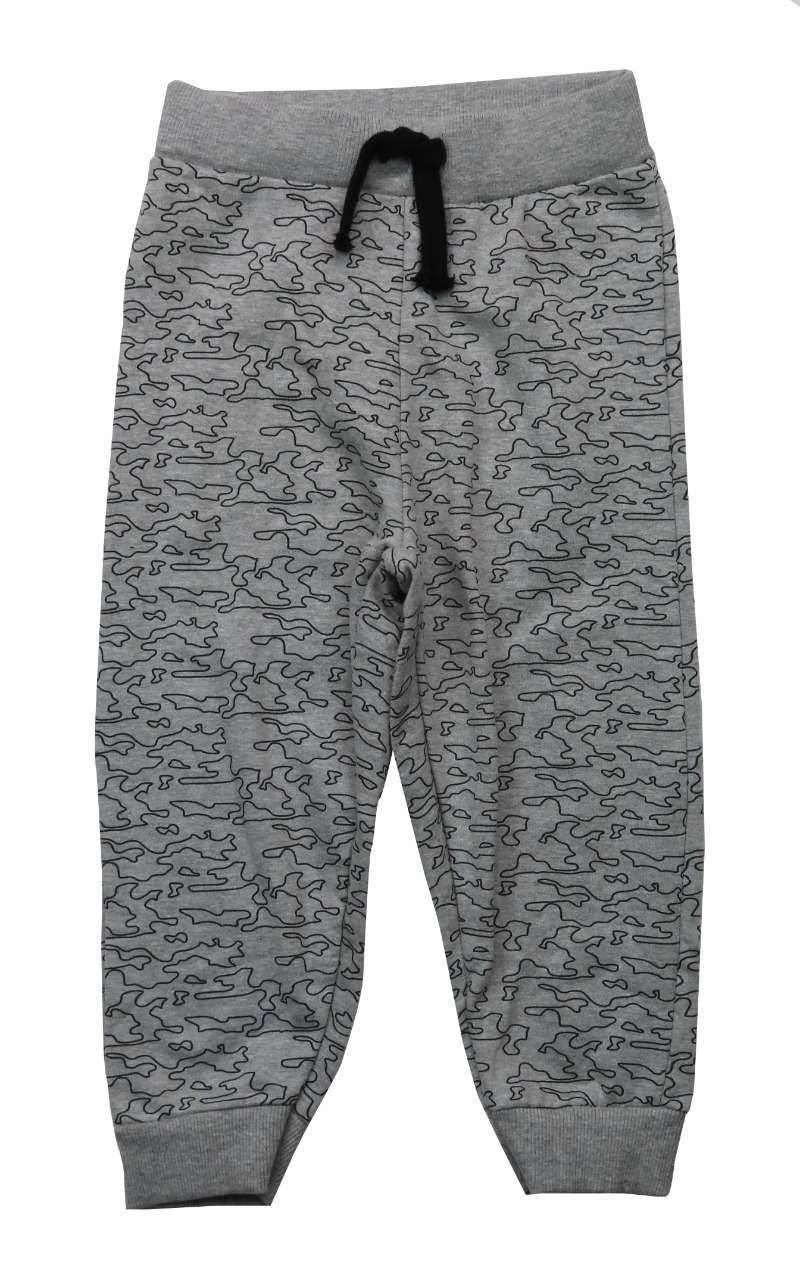 Boys Brushed Fleece Knit Jogger