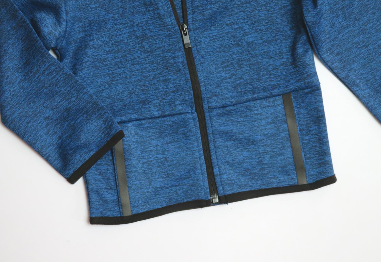 Younger Boys Full Zipper Sweatshirt With Hoodie