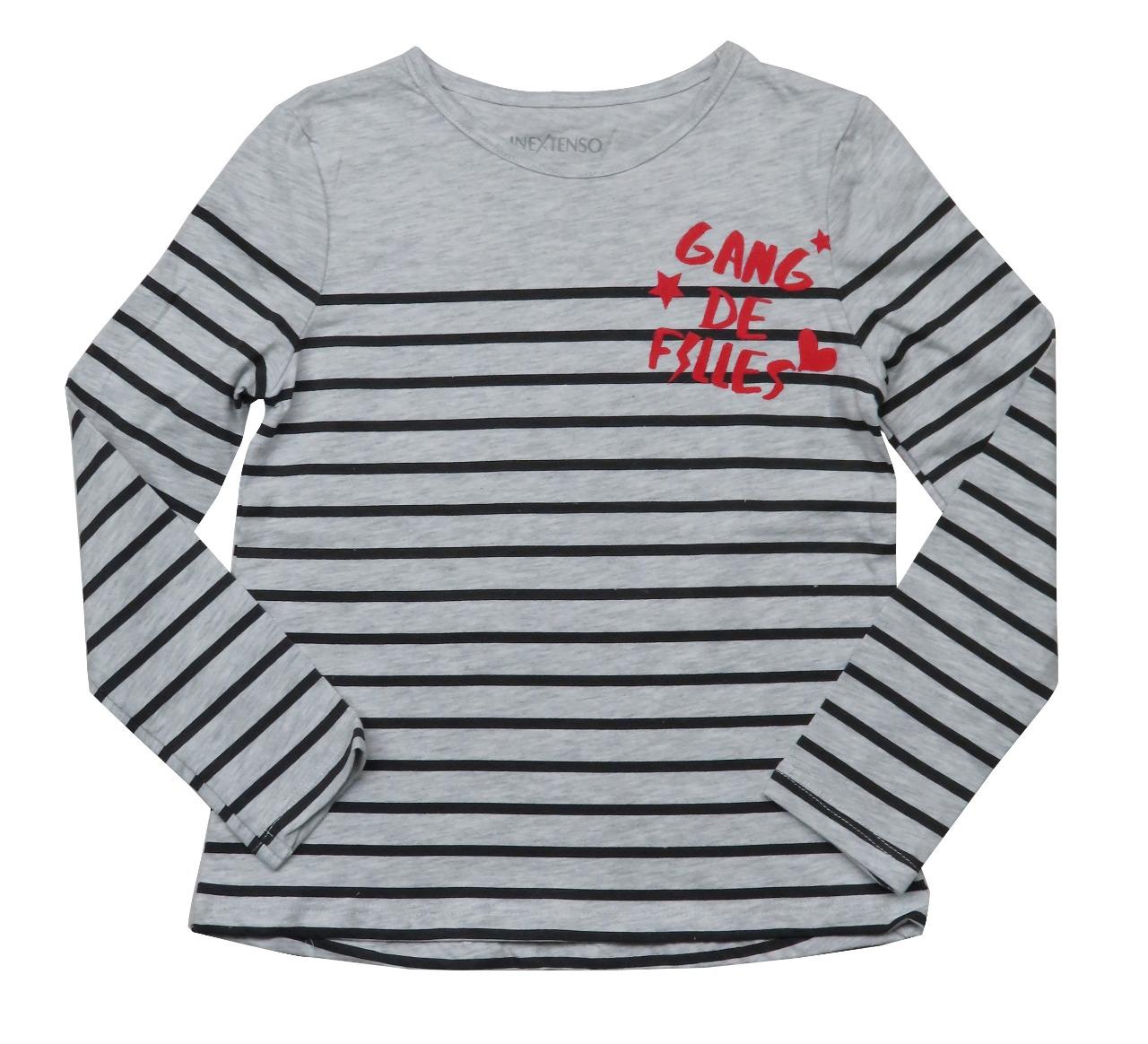 Girls Glitter Printed T Shirt