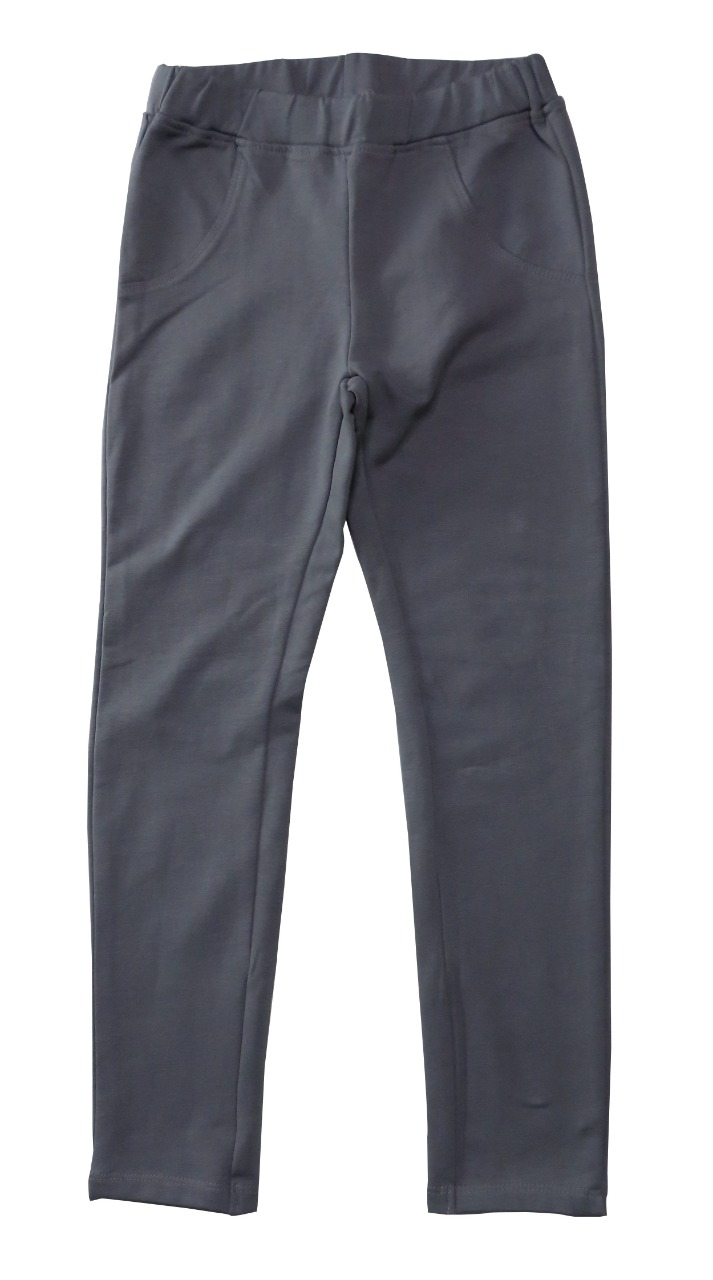 Girls Stretch French Terry Jegging