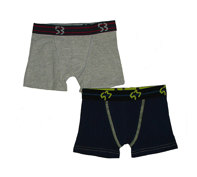 Boys Stretch Knit Outer Elastic Boxers