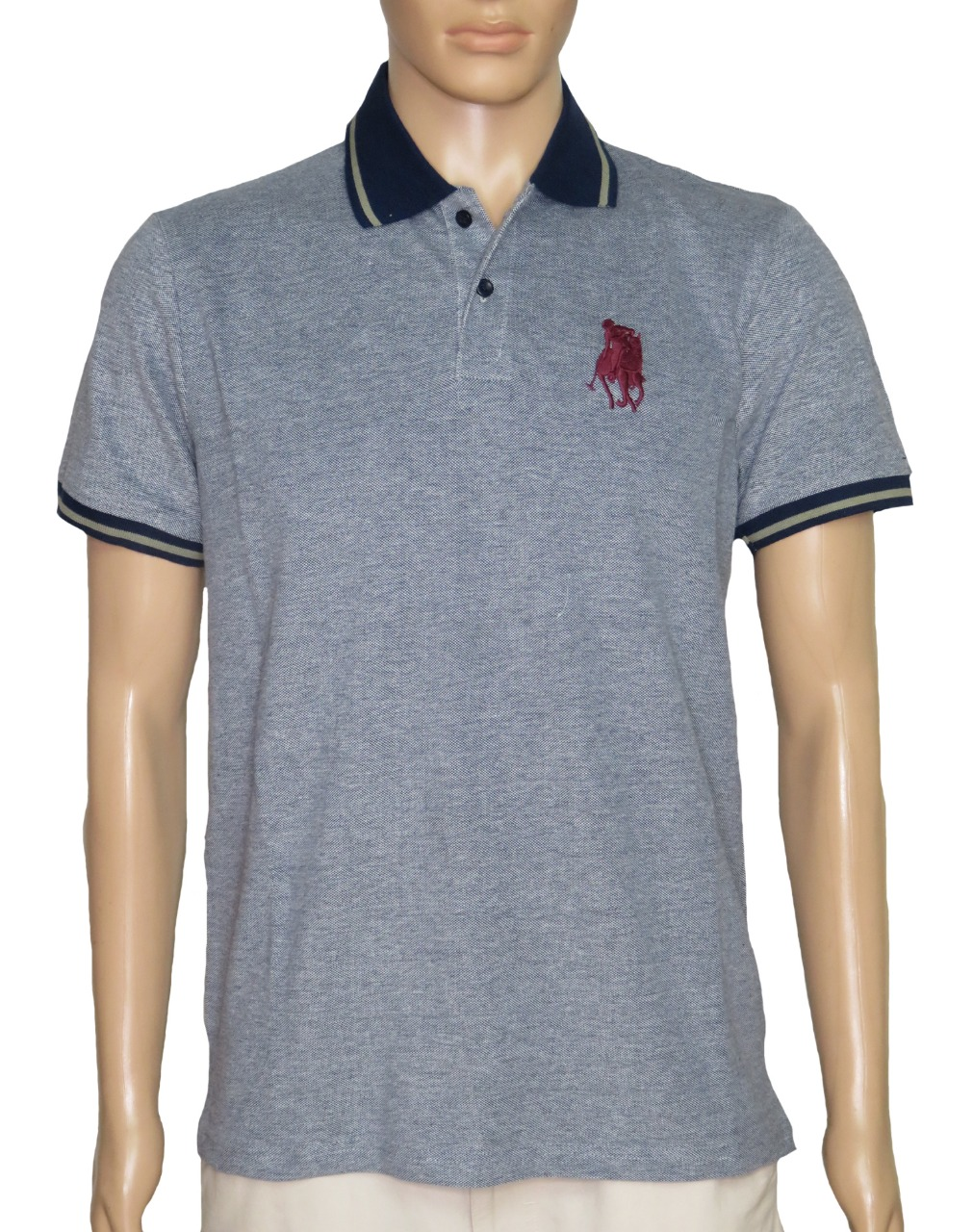 Mens Polo With Embroidery