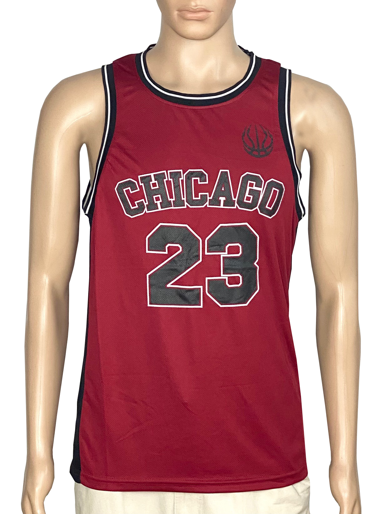 Mens Basketball Sleeveless Jersey T Shirt