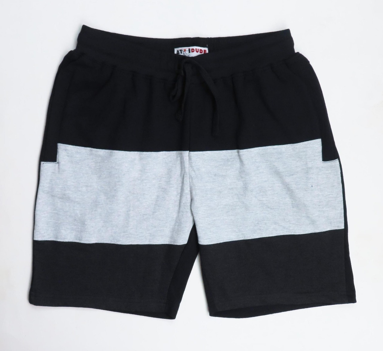 Mens Cut n Sew French Terry Knit Shorts