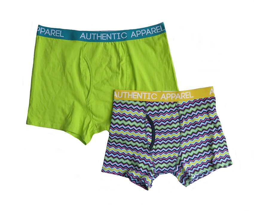 Mens Stretch Outer Elastic Knit Boxers