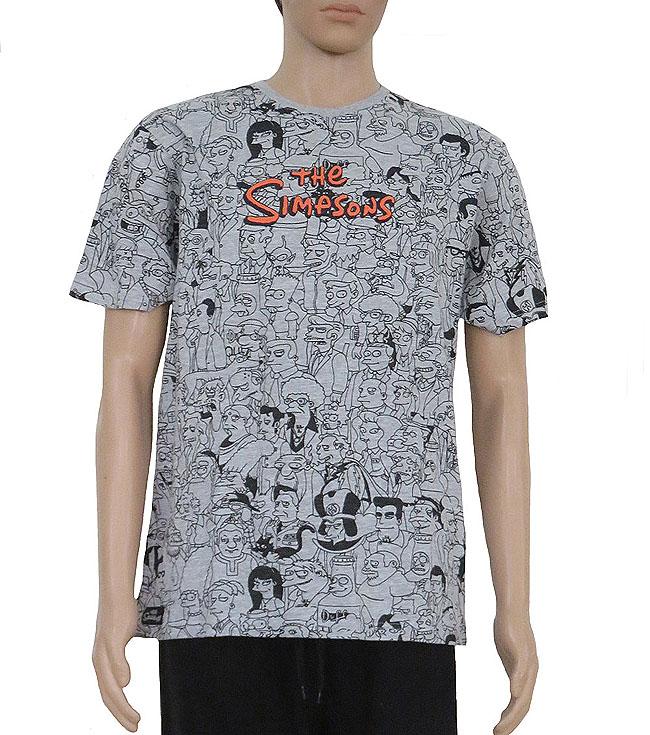 The Simpsons Mens Printed Pyjama Set