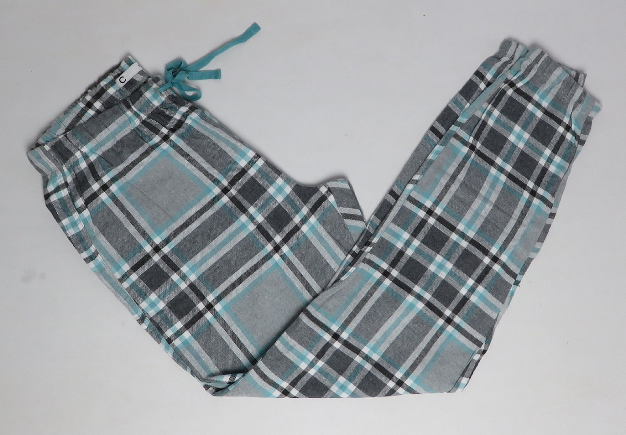 Mens Woven Flannel Night Pants