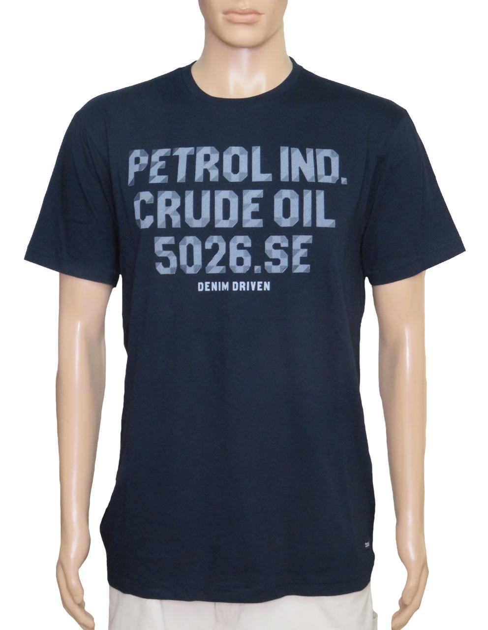 Petrol Mens Printed T Shirt