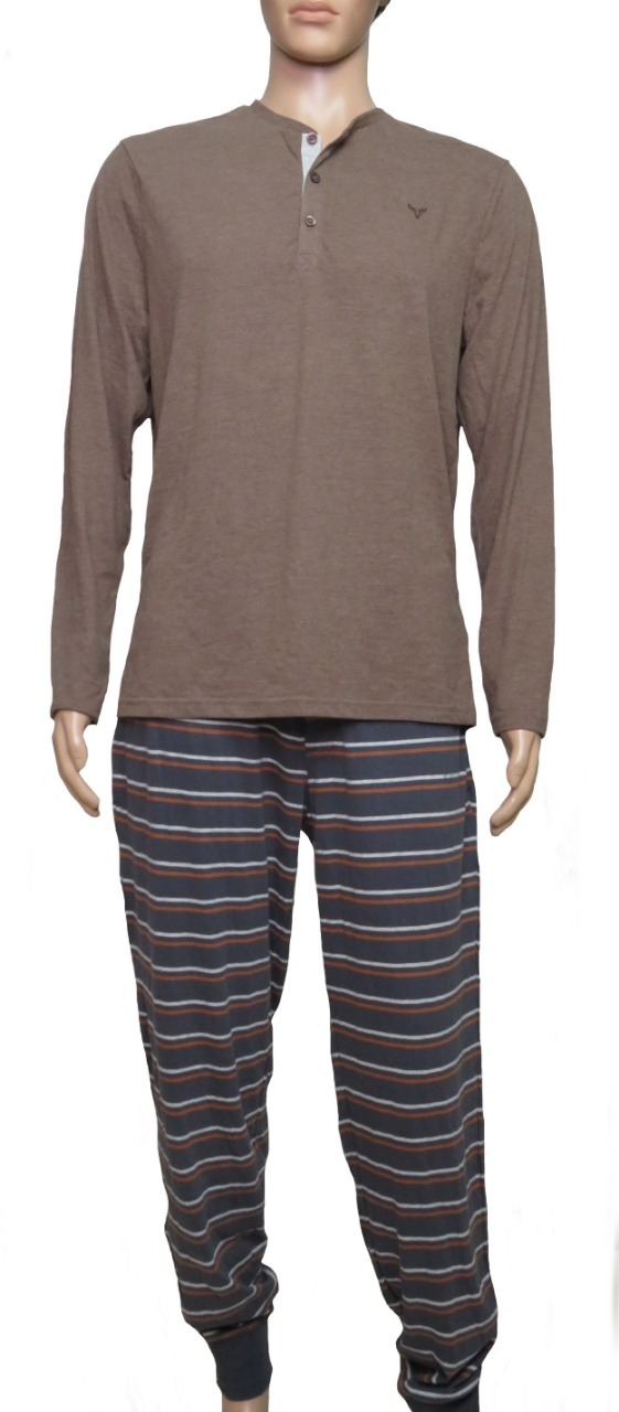 Mens Winter Pyjama Set