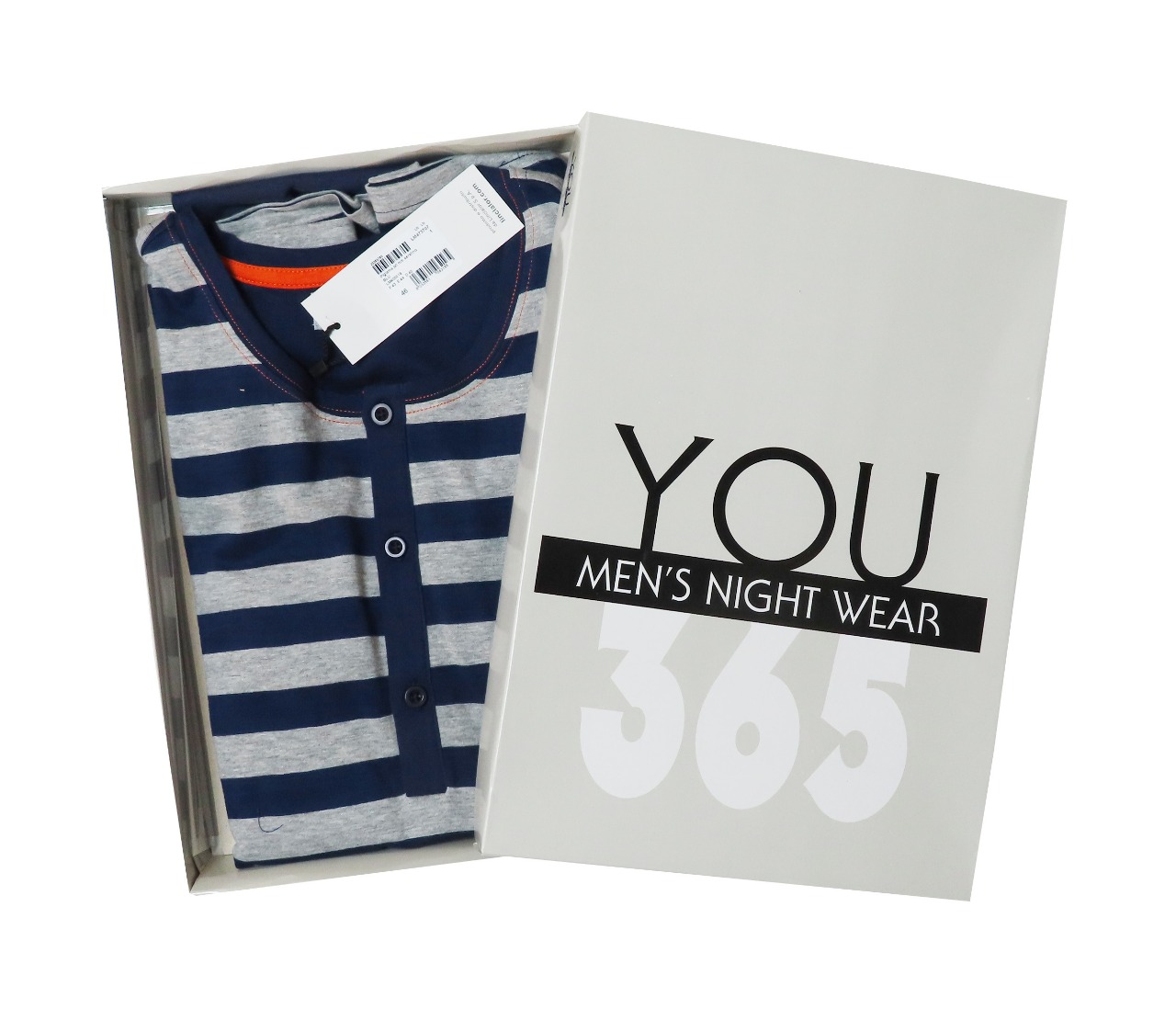 Mens Shorty Pyjama Sets Box Packaged