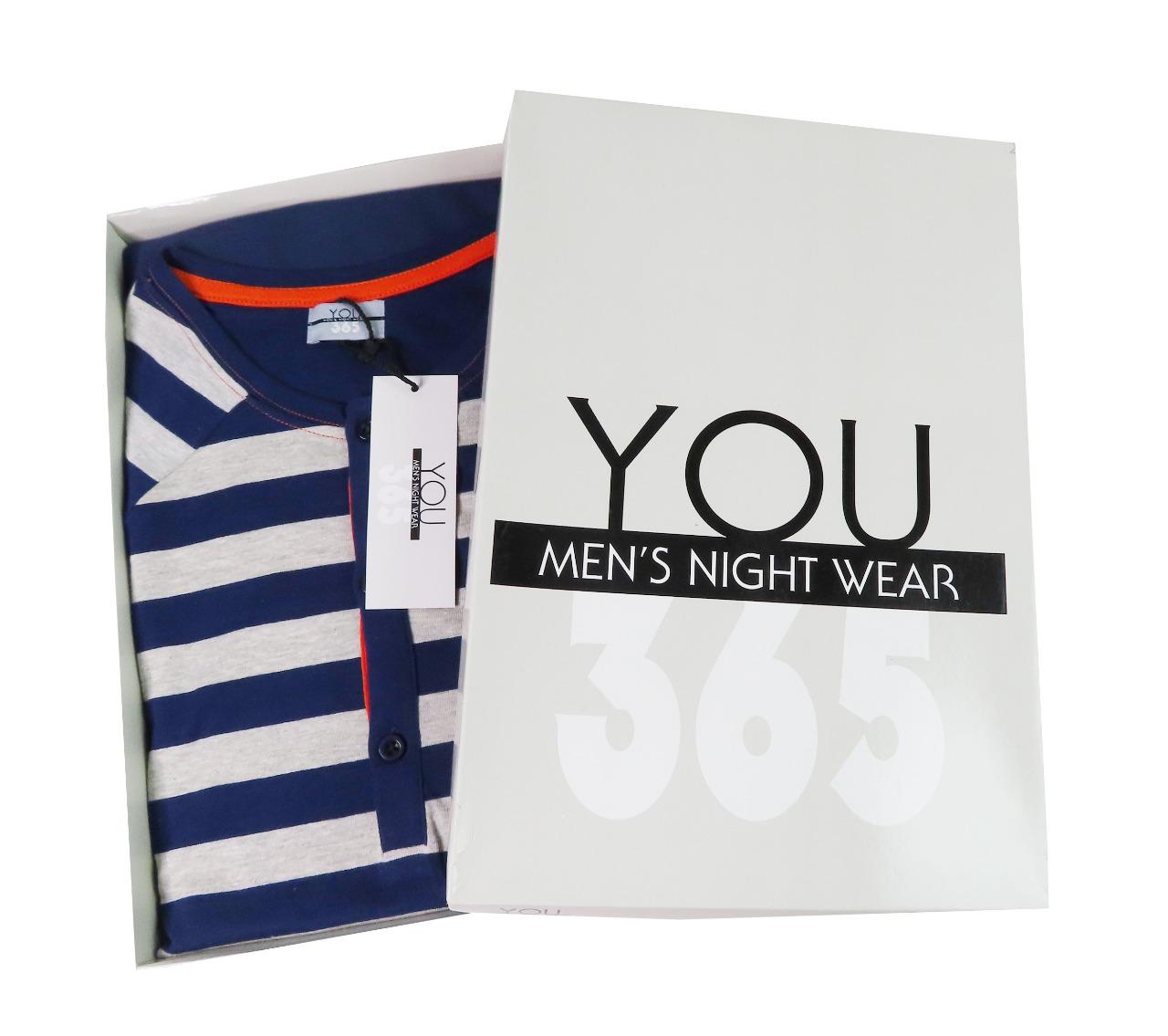 Mens Winter Pyjama Set Box Packaged