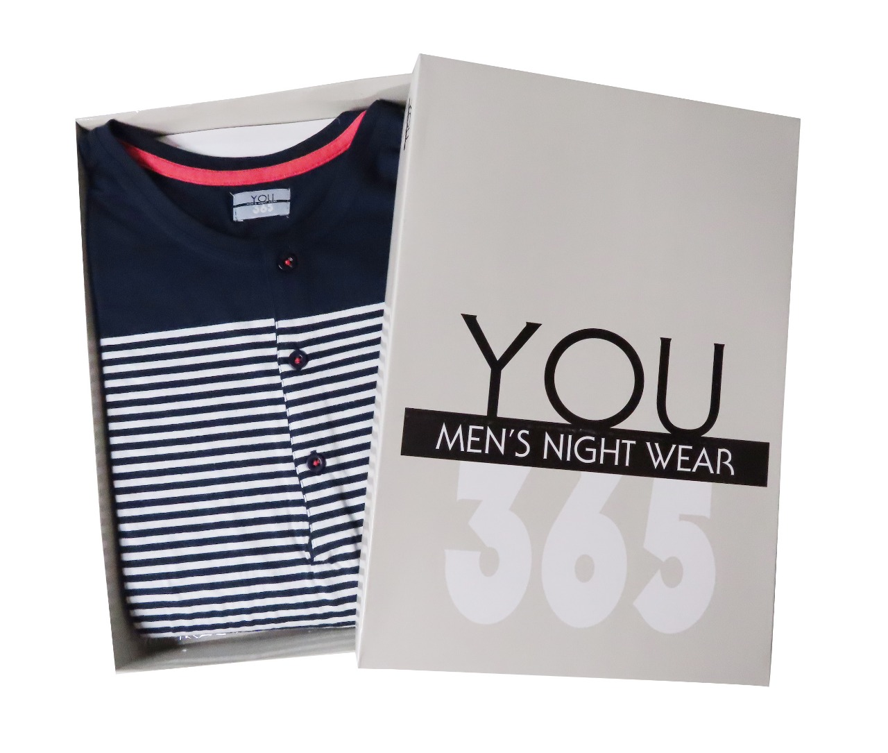 Mens Winter Pyjama Set Box Packaged