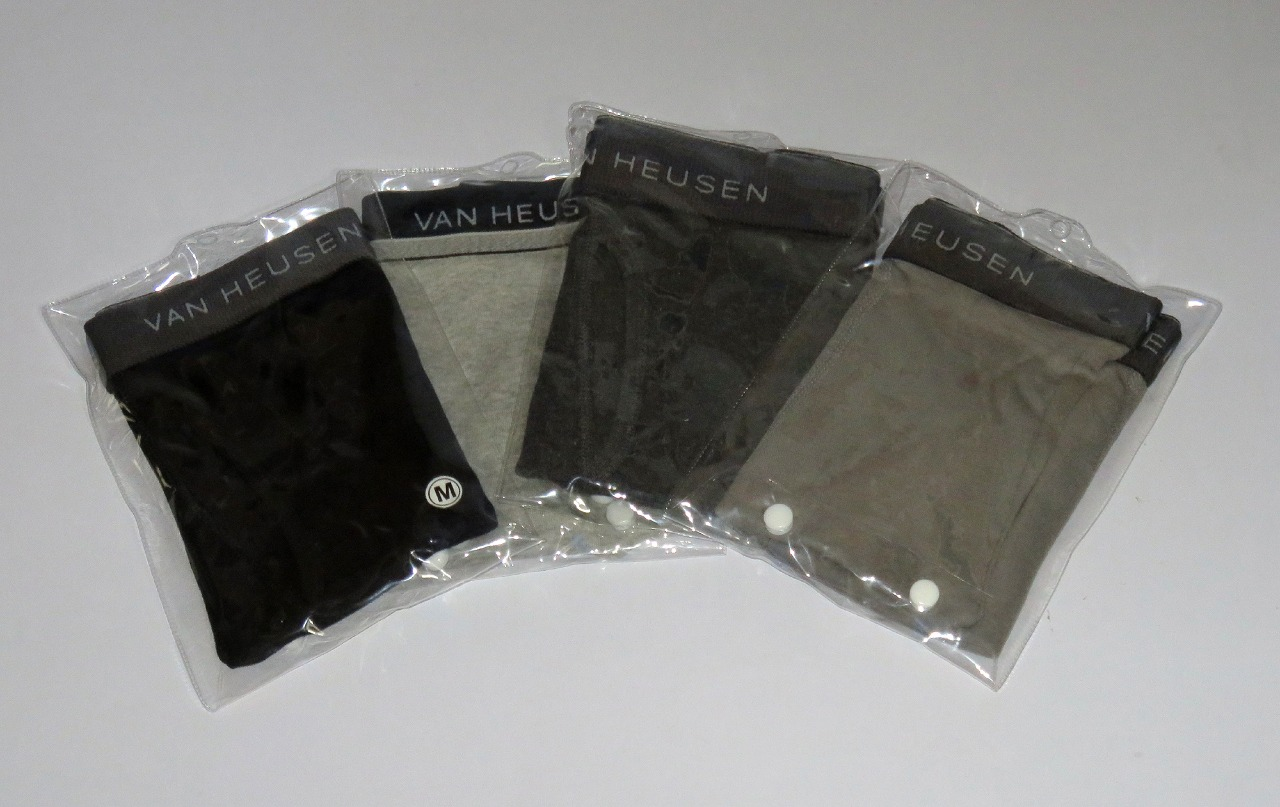 Mens Outer Elastic Knit Boxers Packaged