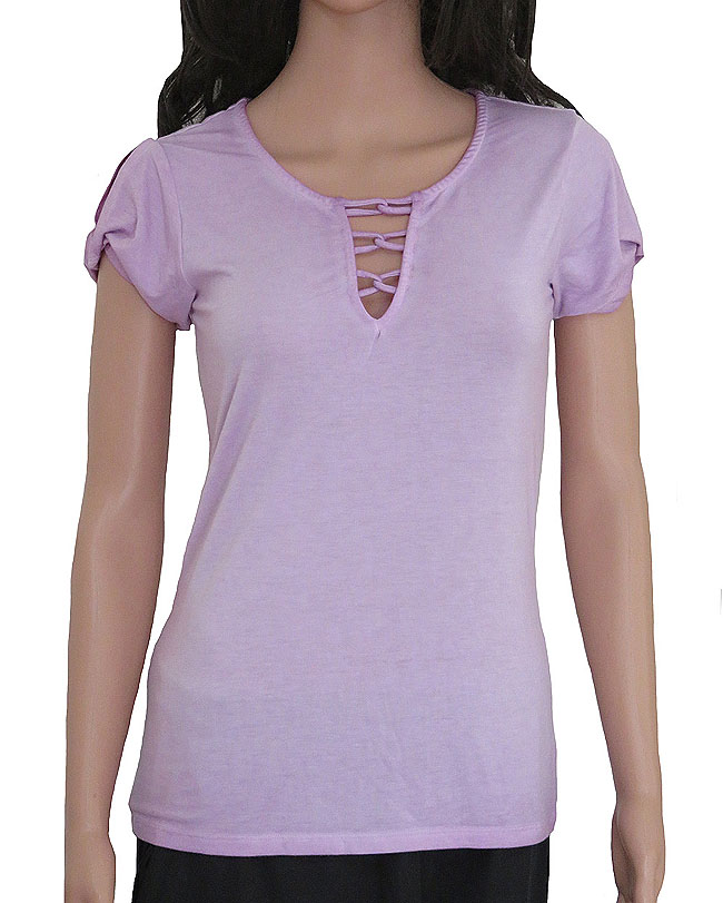 Ladies Stretch Rayon Fancy Top