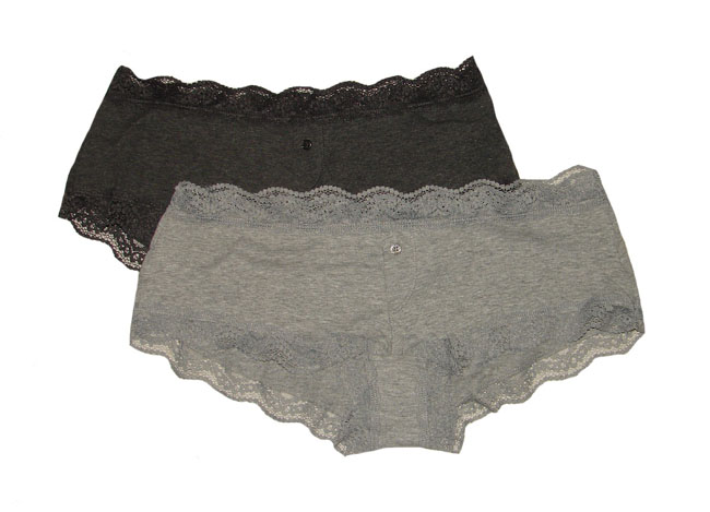 SECRET POSSESSIONS Ladies Stretch Hipsters With Lace