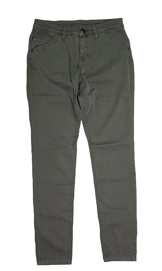Ladies Regular Fit Stretchable Twill Pant