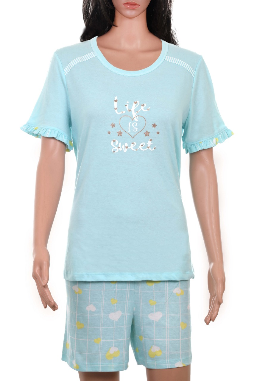 Ladies Shorty Pyjama Set