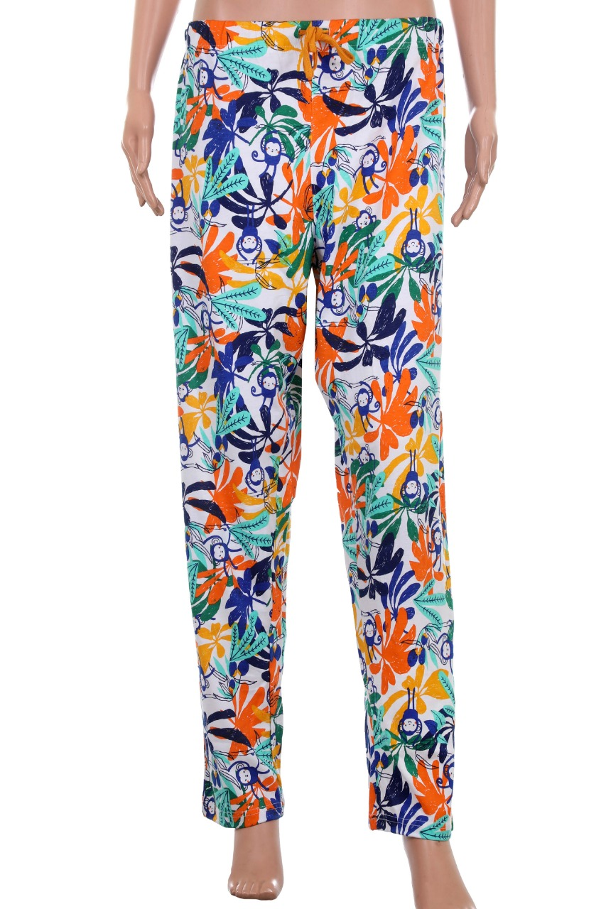 Ladies Printed Night Pant