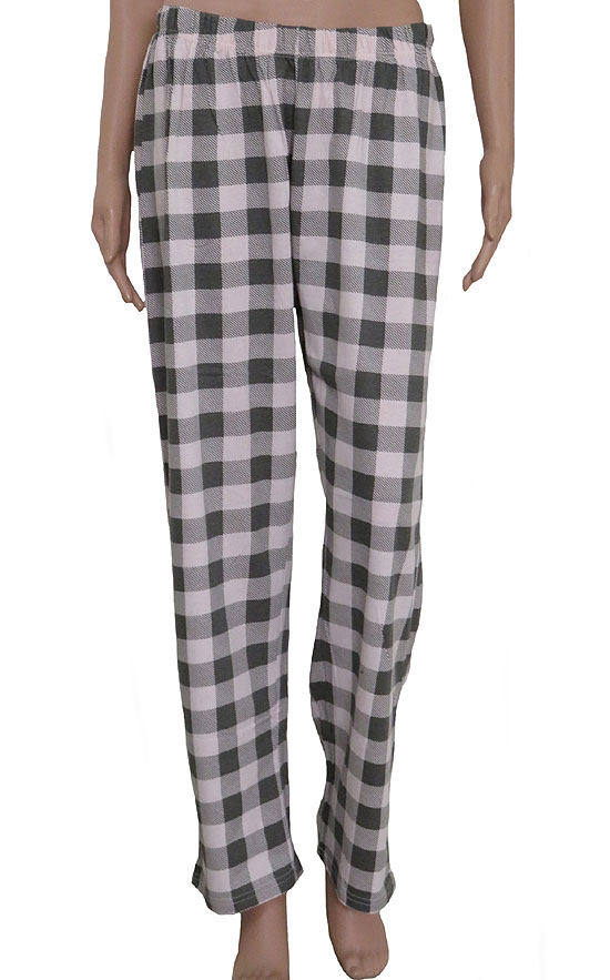 Ladies Plaid Print Pyjama bottoms